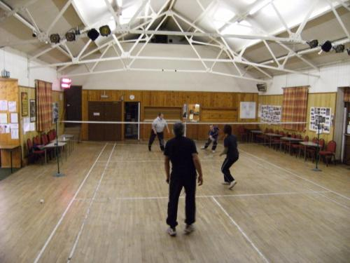 Hartington Village Hall badminton