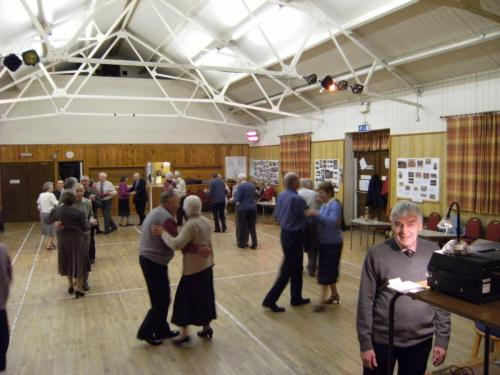 Hartington Village Hall dance session