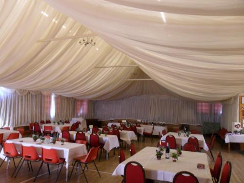 Hartington Village Hall Wedding Preparation